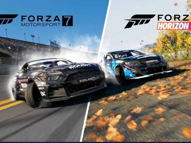 I (helped) make a thing: Forza Drift Update/Angle kits