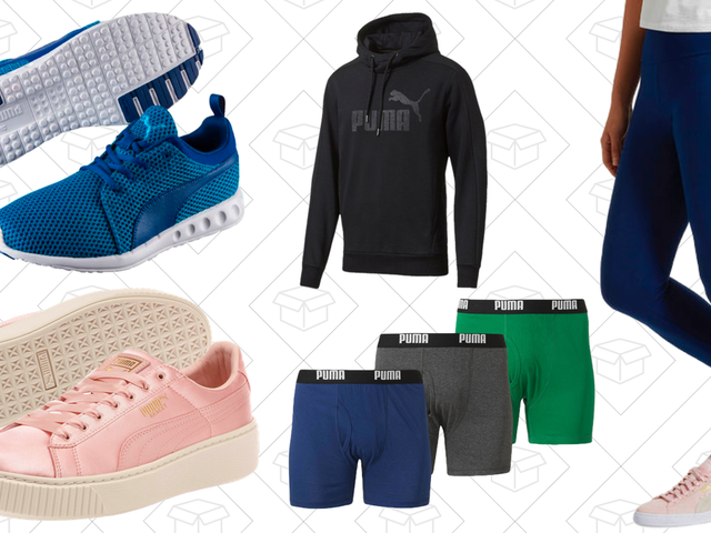 Get Up to 75% Off, Plus Free Shipping, from PUMA's Private Sale