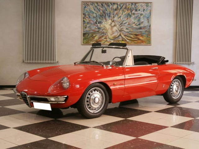 1966 Alfa Duetto: Any Color You Like, But Probably Red