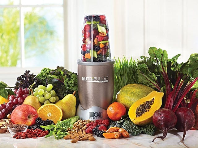 Make Smoothies to Go With This $60 NutriBullet, Today Only
