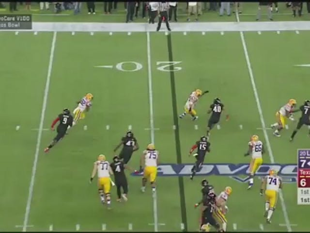 LSU's D.J. Chark Goes 79 Yards, Scores Touchdown On First Career Touch