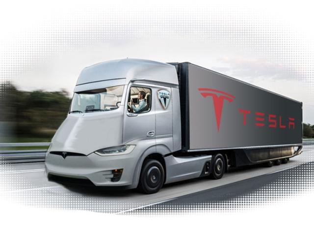 El 'Unreal' Tesla Semi Camión se estrenará el 26 de octubre