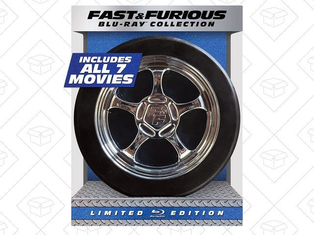 Give the Gift of Seven Fast & Furious Films For $32