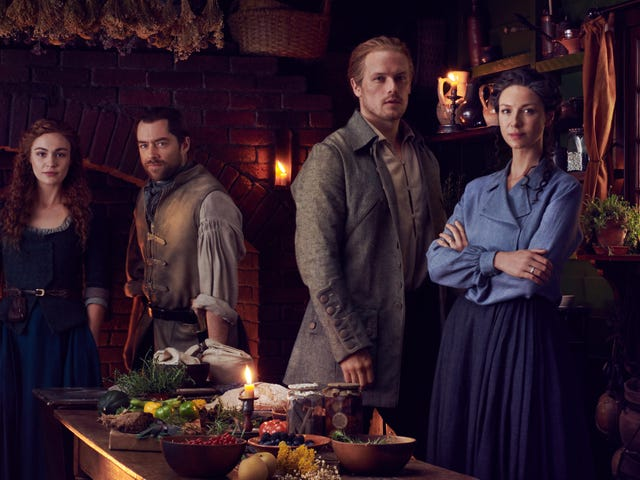 The hot time-travelers are back: Richard Rankin on Outlander's return