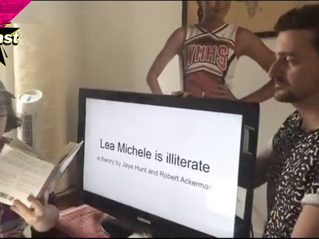 Talking to the Delightful Creators of the 'Lea Michele Can't Read' Conspiracy