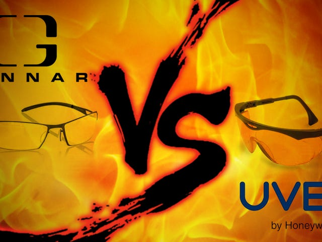 Showdown de lunettes d'ordinateur: Gunnar Optiks vs Uvex