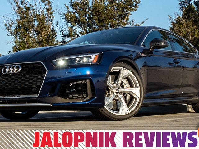 Audi RS 5 Sportback Slays 2019 года