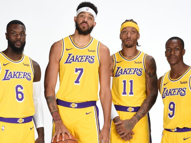 The Lakers' Wayward Bozos Assemble, And LeBron Gives Them A Tender Nickname