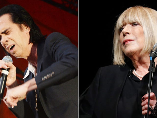 Marianne Faithfull returns with a gorgeous new Nick Cave duet
