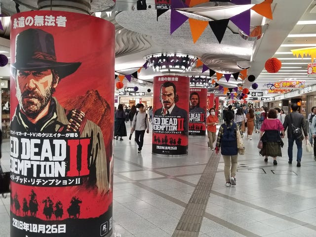 In Japan, Rockstar Is All In For <i>Red Dead Redemption 2</i>
