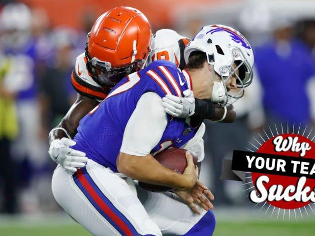Kenapa Pasukan Anda Sucks 2018: Buffalo Bill