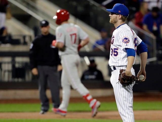 Rhys Hoskins ha trafitto i Mets con una piacevole passeggiata intorno alle basi