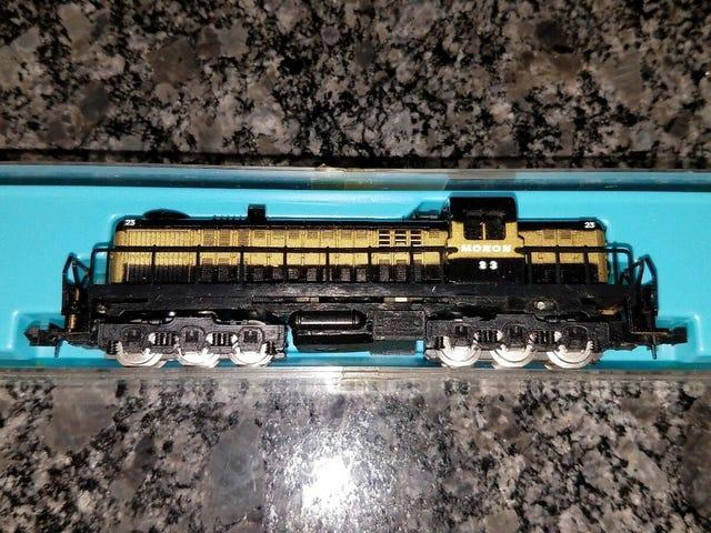 Enhver fan af gamle model tog / andre memorabilia?