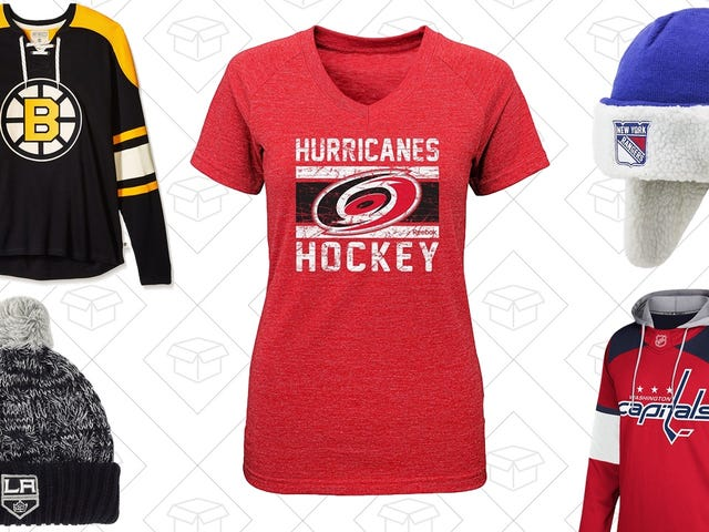 Get Out of the Fashion Penalty Box With Amazon's One-Day NHL Sale