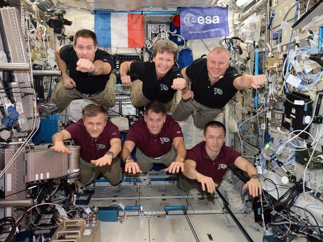 International Space Station Superheroes