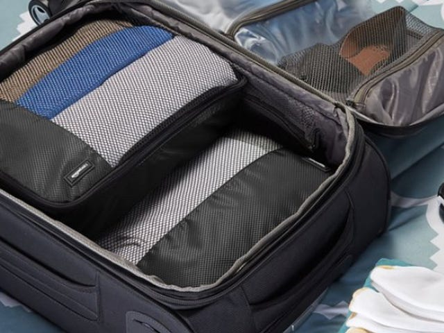 Travel Smarter With These Discounted AmazonBasics Packing Cubes