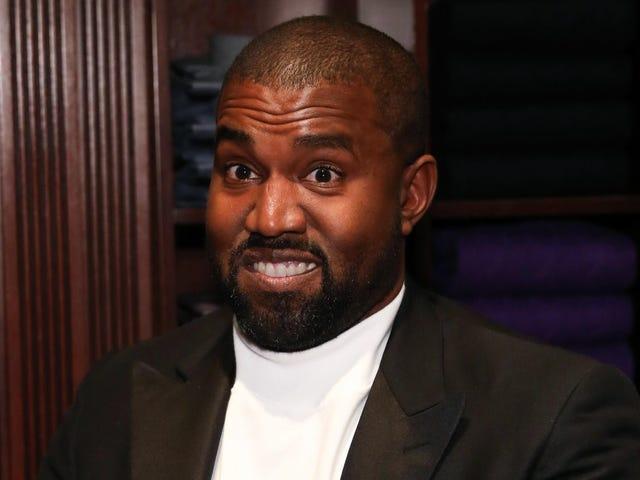 ¿Kanye tiene un plan B?  Porque parece confundido con la anticoncepción (y la educación cívica)