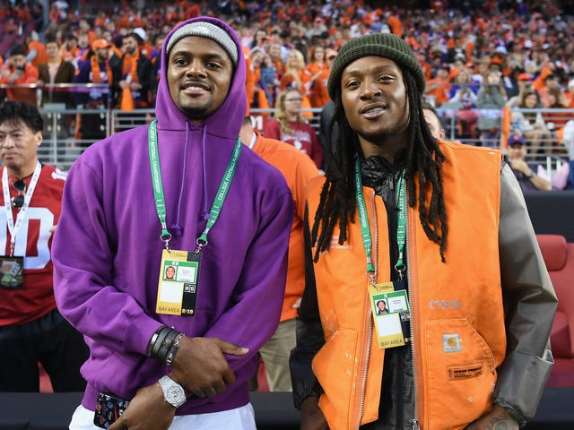 "ESPN Radio Dork Says Deshaun Watson Needed To ""Dress Better"" At Clemson Game"