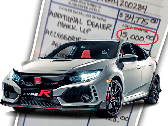 Greedy, Greedy Dealers Are Still Putting Insane Mark-Ups On Civic Type Rs
