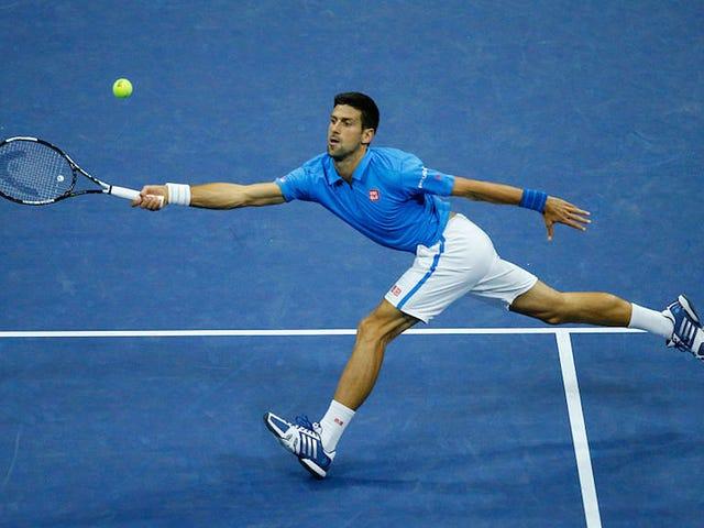 Novak Djokovicilla on ollut helpoin tie Yhdysvaltain avoimeen semifinaaliin