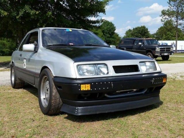 Merkur XR4TI V8 swapped, street legal $7600