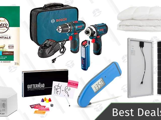 Tuesday's Best Deals: Bosch Tools, Pet Food, Casper Accessories, and More
