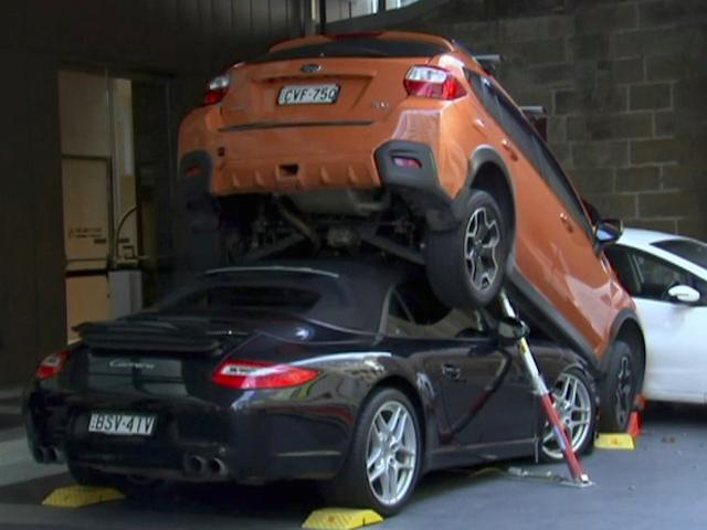 Valet Wedges Porsche 911 Under Subaru, Creates Tower Of Boxer Engines