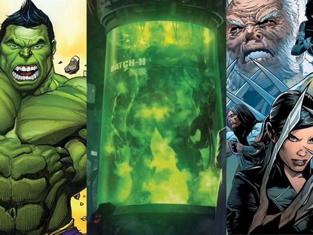 Den helt fantastiske Hulk er våpen X-programets nyeste mål