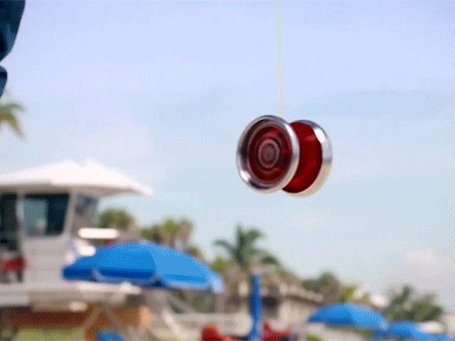 Apa yang Di dalam Yo-Yo Itu Mematikannya Berputar?