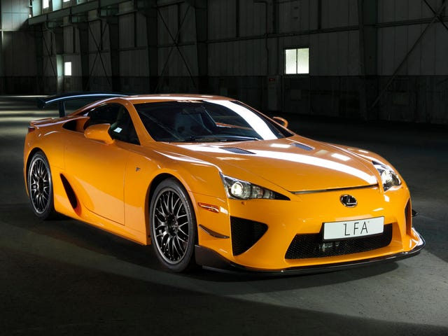 Congratulations To The Three (3) People Who Bought A New Lexus LFA Last Year