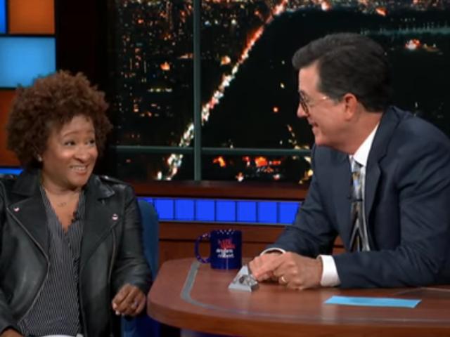 Former NSA employee Wanda Sykes tells Stephen Colbert that, yeah, he's probably bugged