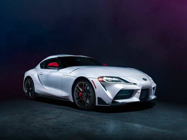 Your Brooding 2020 Toyota Supra Wallpaper Di Sini
