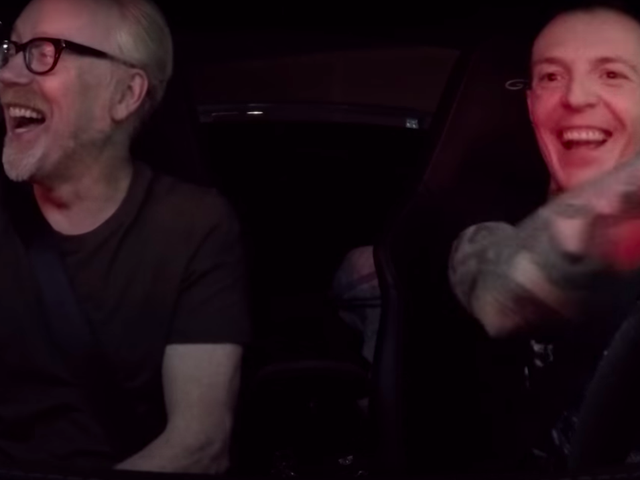 Watch Former Mythbusters Host Adam Savage Take A Ride In Deadmau5's Porsche GT3