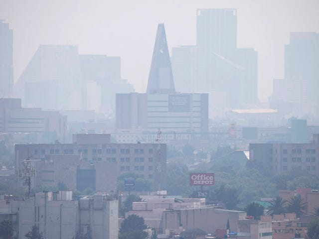 Mexico City fordobler på sin bil forbud for at rydde Smoggy Skies