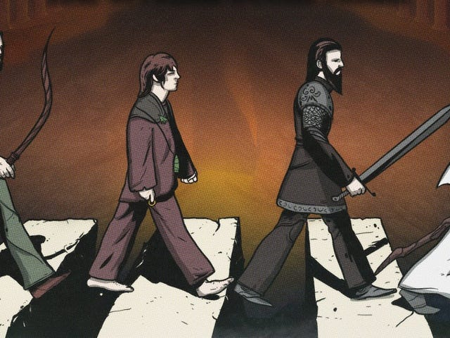 Los Beatles intentaron llevar <i>El Señor de los Anillos</i> 60-jährigen Nationalmannschaft