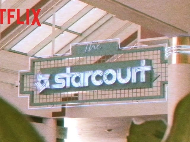 Starcourt Mall has it All...