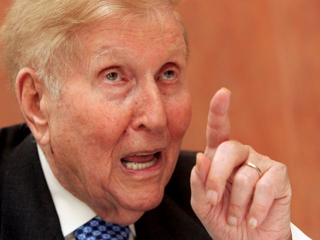 When I'm 94, I Want an iPad That Says 'Fuck You' Like Sumner Redstone