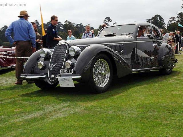 Saya melihat Alfa Romeo tua itu lagi