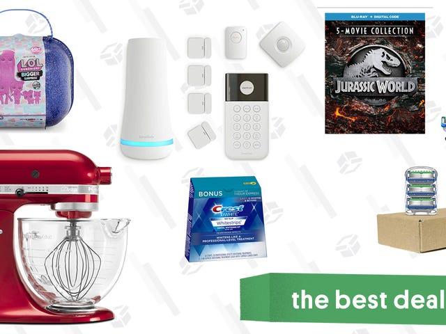 Monday's Best Deals: KitchenAid, Oral B, Crest, SimpliSafe Security, and More