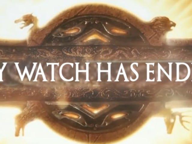 스트레인 드 어스 (Spined Earth)는 Game Of Thrones / 스포츠 매시업 Game Of Thrones 또 다른 Game Of Thrones 풀려 나기 때문에 강력한 신음 소리를 낸다.