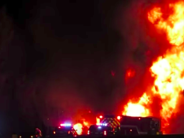 Fatal Pileup Outside Of Toronto Shuts Down Highway After Massive Fire