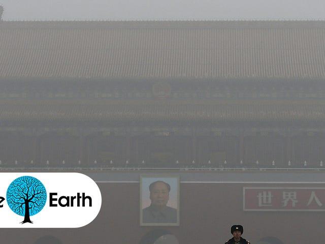 Kinas Airpocalypse er så dårlig, det forbyder halvdelen af bilerne i Beijing