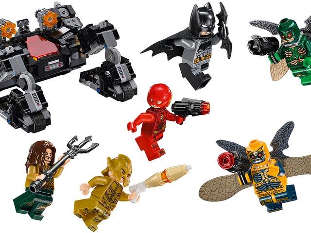 Justice League của Lego tiết lộ các nhân vật phản diện của bộ phim và nhiều đồ chơi tuyệt vời khác của Batman