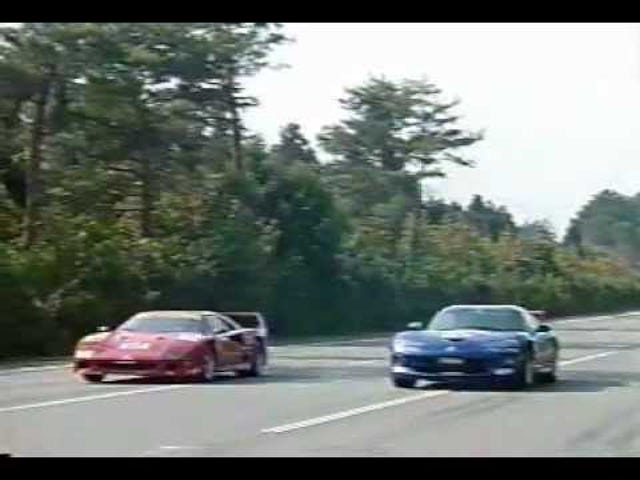 Remember When Best Motoring Raced A F-40 Against a Viper GTS And A XJR-15?