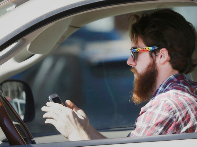 Mazda Files Patent That Could Benefit Everyone Who's Glued To Their Phone While Driving