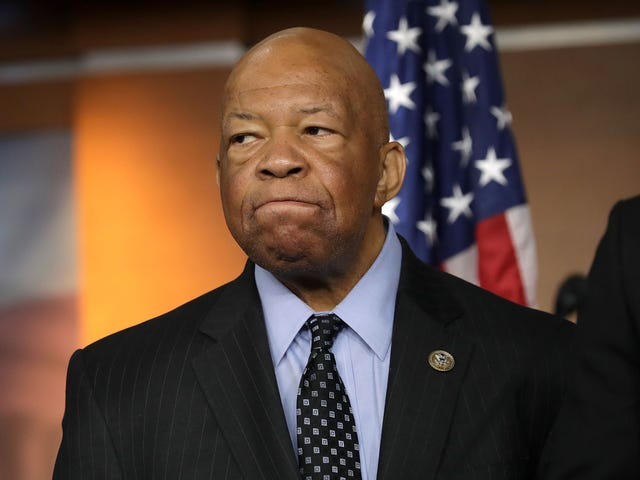 Home of Elijah Cummings Was Burglarized and President Petty Responded Exactly as You'd Expect Him To