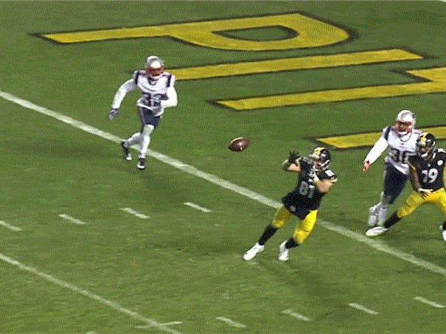 NFL's Worst Rule Robs Steelers Of A Win Over Patriots