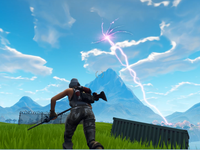 Fortnite's Rift Is Shooting Lightning And No One Knows Why [Update: Rift Closes, Giant Alien Cube Appears]