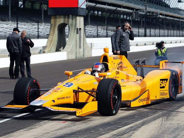 Fernando Alonso's Indianapolis 500 Practice Time Broke The Indy-net