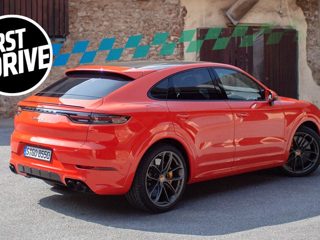The 2020 Porsche Cayenne Coupe Doubles Down on Absurdity but It's Fun and Fast